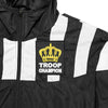 Troop Champion Windbreaker Black/White