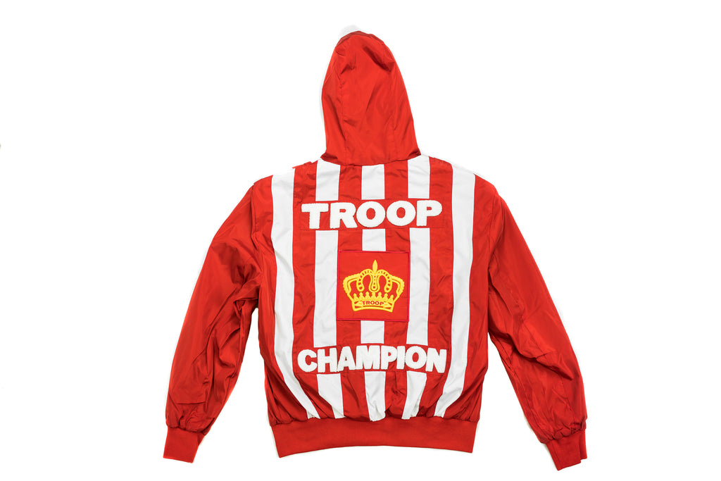 Troop Champion Windbreaker Red/White
