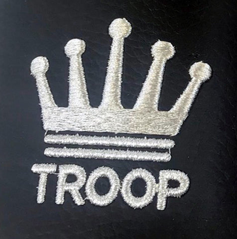 Troop Crown Slide Black/White
