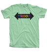 TROOP Ice Lamb T-Shirt Patina Green