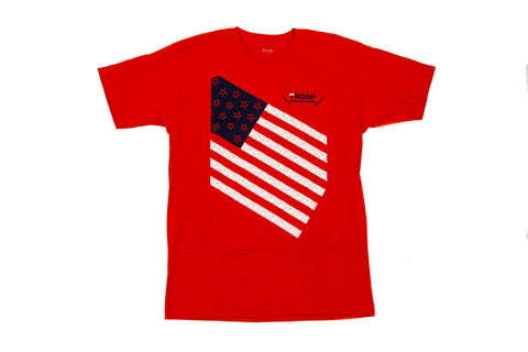 TROOP Stars and Stripes T-Shirt Red