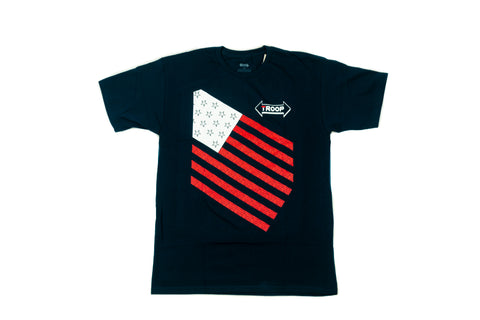 TROOP Stars and Stripes T-Shirt Navy