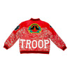 Troop Premium 7/11 Red Leather Jacket