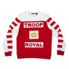TROOP Royal Crew Red