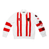 TROOP Nylon Track Top White/Red