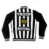 TROOP Crown Royal Velour Jacket Black