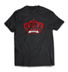 TROOP Crown Flock T-Shirt Black/Red
