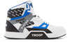 Troop Delta White/Black/Blue