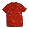 TROOP All Over Arrow T-Shirt Red
