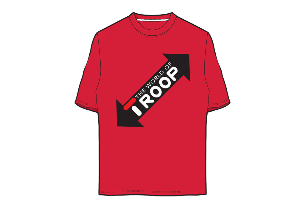 TROOP World T-Shirt Red/White