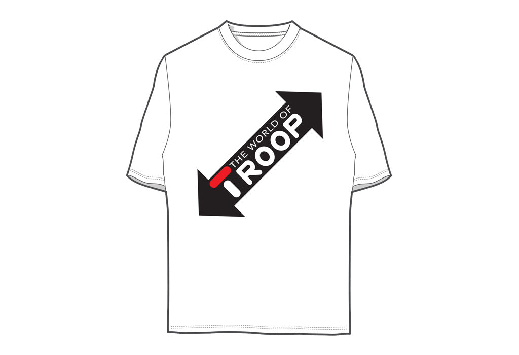 TROOP World T-Shirt White/Black