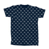 TROOP All Over Crown T-Shirt Navy