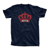 TROOP Crown Flock T-Shirt Navy
