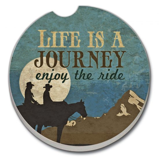Life Is A Journey - Car Coaster