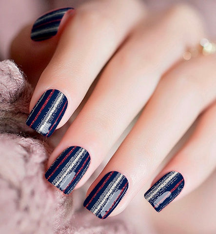 Nail Wraps - Denim It