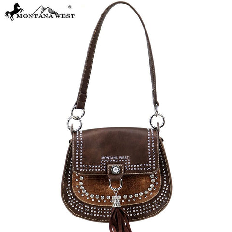 Montana West Safari Collection Saddle Bag
