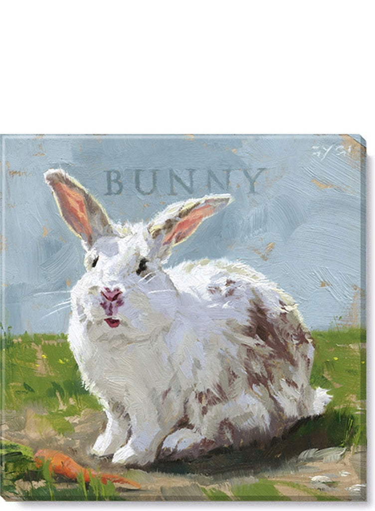 Easter Bunny Giclee Wall Art