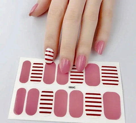 Nail Wraps - Love Stripe