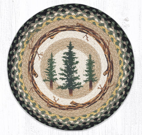 Tall Timbers Round Placemat