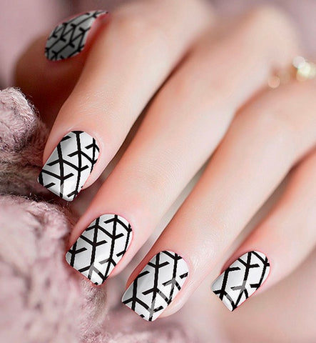 Nail Wraps - Barbed Wire