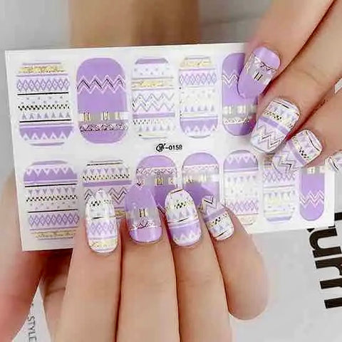 Nail Wraps - Life of the Party