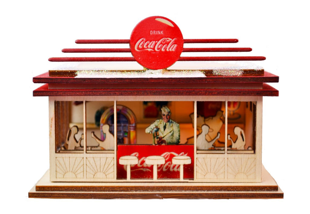 Coca Cola Soda Shop Cottage