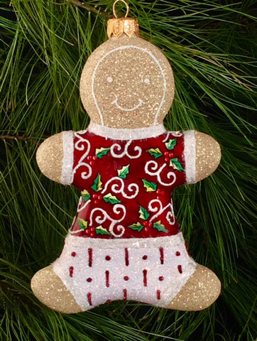 Gingerbread - Red Holly Boy