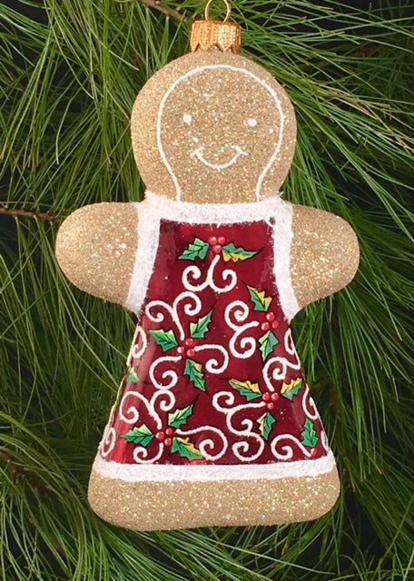 Gingerbread - Red Holly Girl