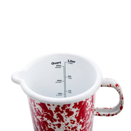 Splatterware Measuring Pitcher