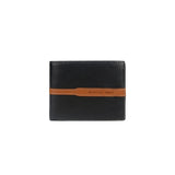 Genuine Leather Men's Wallet - Black/Brown