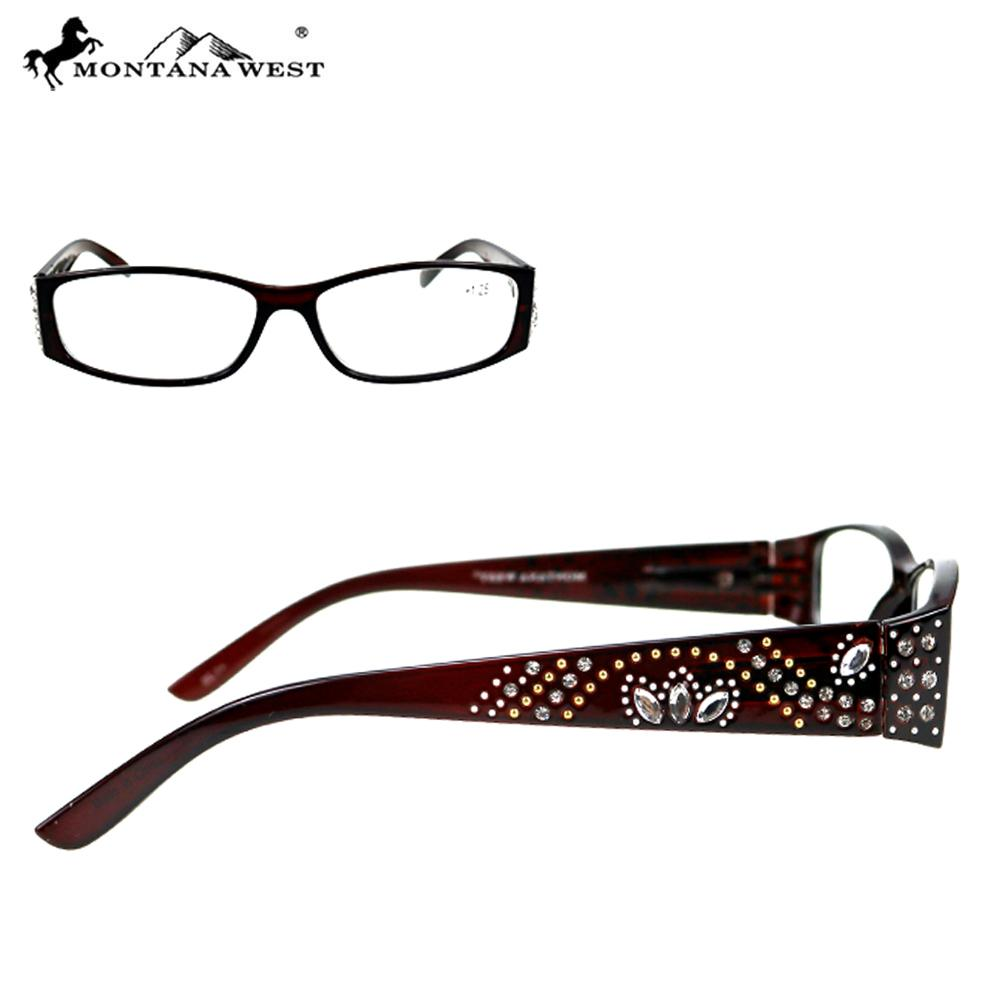 Montana West Bling Bling Reading Glasses