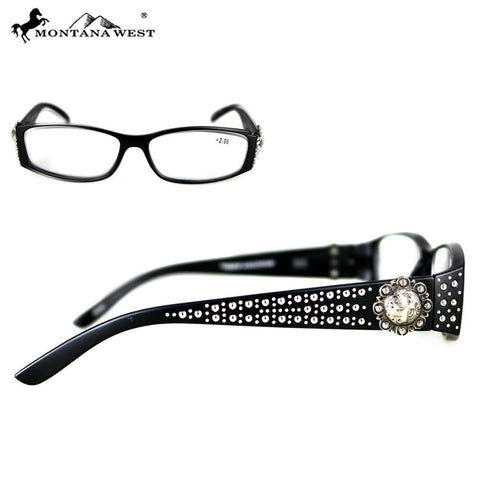 Montana West Berry Concho Reading Glasses