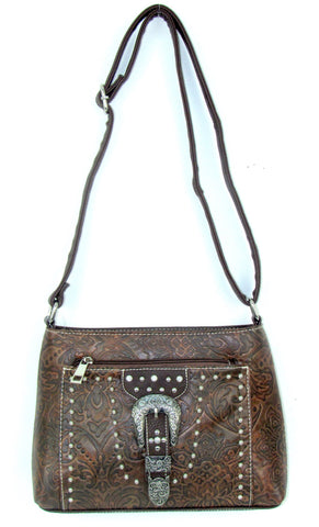Savana Tooled Crossbody