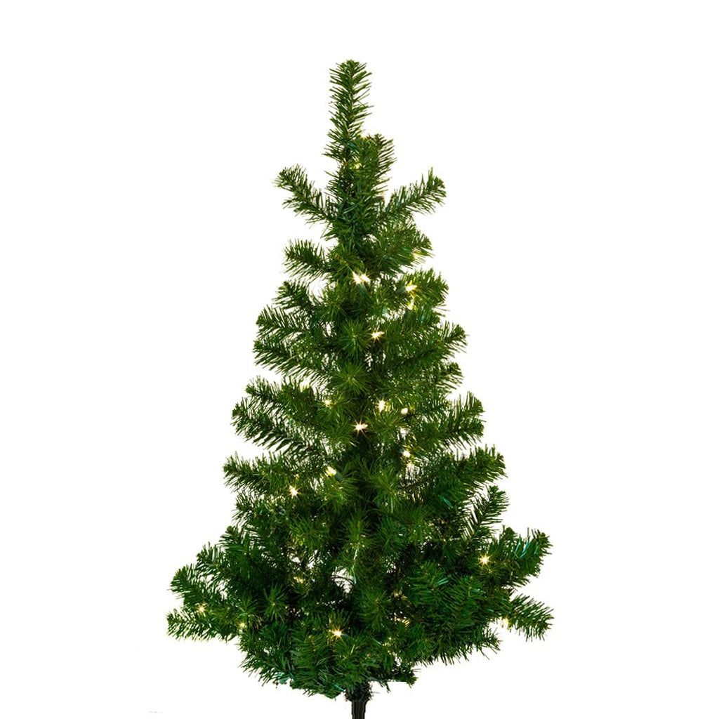 4ft. Norway Pine Wall Christmas Tree