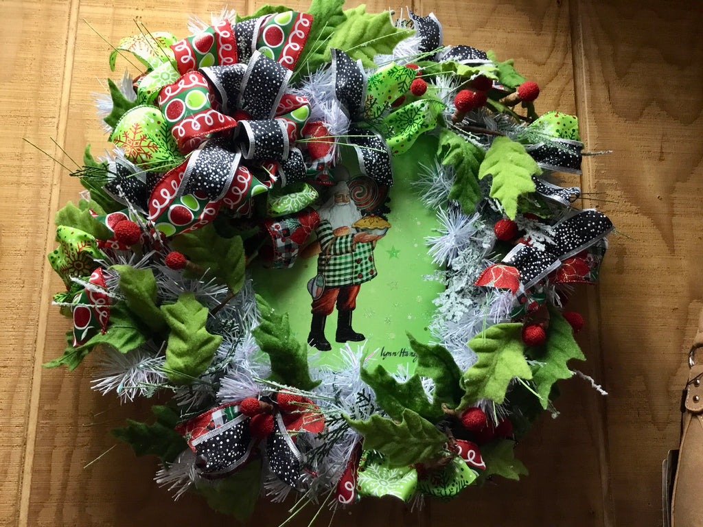 Christmas Baker Wreath
