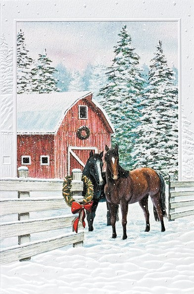 Curious Couple Deluxe Christmas Cards