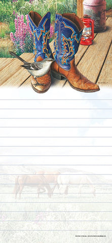 Mocking Boots List Pad