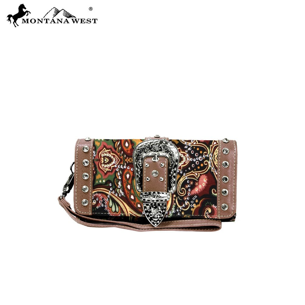 Montana West Buckle Wallet
