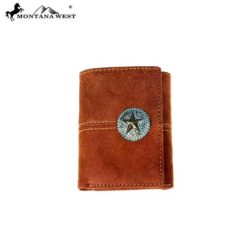 Genuine Leather Texas Men's Wallet