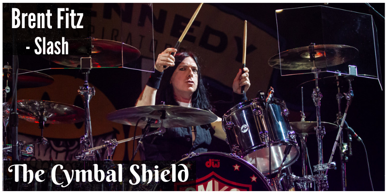 Cymbal Shield / Drum Shield by Smokin Ace
