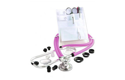 American Diagnostic Corporation ADC 116-641 Frosted Magenta Nurse Combo Pocket Pal/Sprague Kit