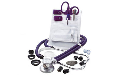 American Diagnostic Corporation ADC 117-641 Purple Nurse Combo Plus Pocket Pal/Sprague Kit