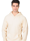 Organic Cotton Hooded Pullover Sweatshirt