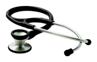 American Diagnostic Corporation ADC 602 Series Adscope® Black Traditional Cardiology Stethoscope