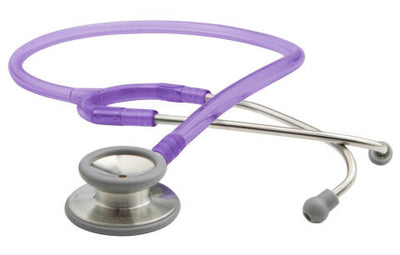 American Diagnostic Corporation ADC 603 Series Adscope® Frosted Purple Clinician Stethoscope