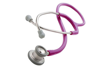 American Diagnostic Corporation ADC 605 Series Adscope® Metallic Raspberry Infant Clinician Stethoscope