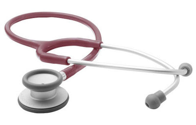 American Diagnostic Corporation ADC 609 Series Adscope® Ultra-lite Burgandy Clinician Stethoscope