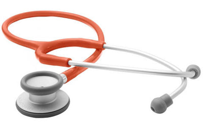 American Diagnostic Corporation ADC 609 Series Adscope® Ultra-lite Orange Clinician Stethoscope