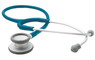 American Diagnostic Corporation ADC 609 Series Adscope® Ultra-lite Turquoise Clinician Stethoscope