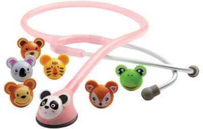 American Diagnostic Corporation ADC 618 Series Adimals® Pink Platinum Pediatric Stethoscope
